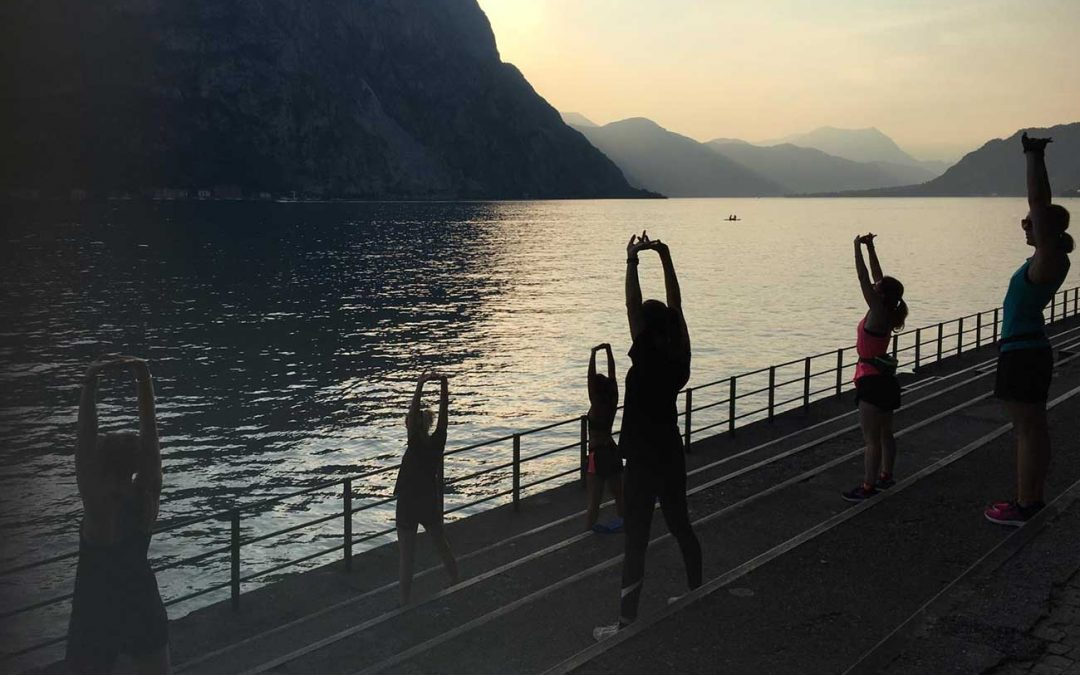 PANORAMIC WORKOUT ON LAKE COMO